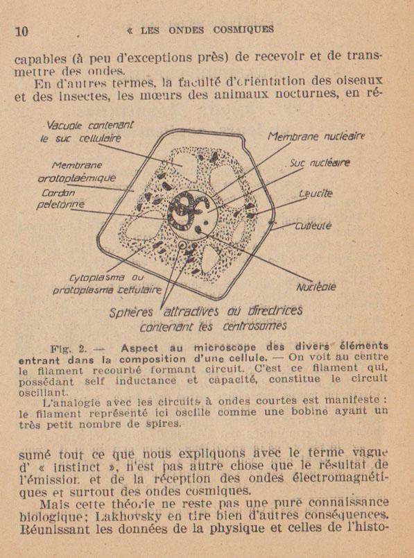 observations médicales sur l'emploi des circuits oscillants Lakhovsky